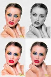 Обработка ваших фото в Фотошопе.Читка лица,  замена фона,  улучшение,  портреты по фото.Шарж, карикатура.Коллаж,  фотомонтаж.