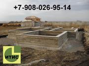 Строительство: фундамент,  сруб,  крыша.Дома, бани.Септики.