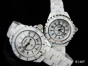 Часы Chanel белая керамика