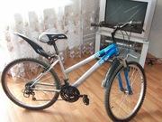 Велосипед топгир в отличном состоянии шины поменяны на новые  синий с
