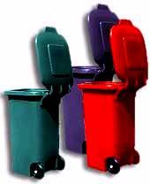 Мусорные баки (пластиковые контейнеры)
