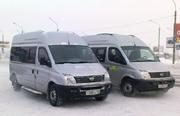 Микроавтобус Челнокам-коммерсантам,  в Новосибирск на оптовый рынок.