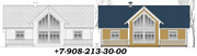 Проекты домов. Услуги  архитектора.Строительство