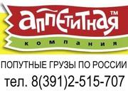 Грузоперевозки по России,  попутный груз.