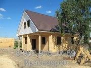 Строительство дома из бруса. Красноярск,