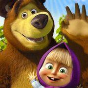 Маша и Медведь на День рождения ребёнка. Красноярск
