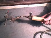Лужение,  пайка медных водопроводных труб.