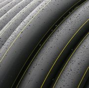 Трубы полиэтиленовые напорные (ПВД) ПЭ 100 d=110 mm (SDR 7, 4 - SDR 26)