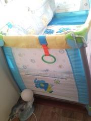 Манеж-кроватка