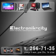 Замена разбитого экрана на ноутбуке в Красноярске