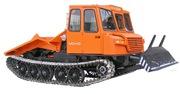 Трелевочный трактор МСН-10 с трехместной кабиной новой модели.