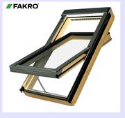 Мансардное окно со среднеповоротным открыванием FAKRO