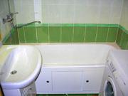 Уютная ванная комната за 15 дней