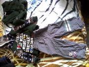 б/у одежда на мальчика дёшево продам