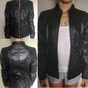 Продам женскую кожаную курточку