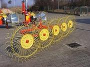 Грабли-ворошилки 5 колесные Ekiw (Польша)