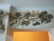 Штукатурка декоративная,  рельефная,  выравнивание,  кафель,  керамогранит