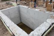 Погреб монолитный сборный. Завод ЖБИ. Ремонт погреба в Красноярске