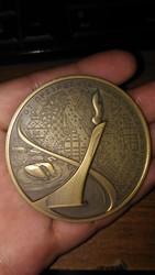 Настольная паметная медаль Олимпийских и паралим.игр в г.Сочи 2014г