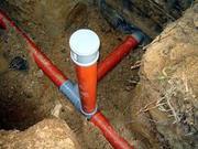 Водопровод в частный дом. Прокладка водопровода.