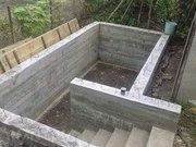 Погреб монолитный жби конструкция с лестницей