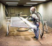 Пескоструйная обработка металлоконструкций,  дерева