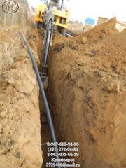 Водопроводы,  септики частным домам.