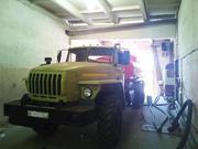 Урал топливозаправщик АТЗ-10 бензовоз