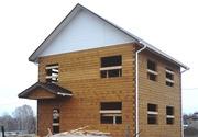 Деревянные дома,  бани. Строительство от фундамента под кровлю