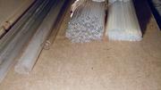 Стеклянные трубки разной длины и диаметра