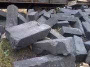 Графитовые блоки из б/у теплообменников,  углеродсодержащие материалы.