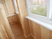 Утепление,  обшивка лоджии,  балкона вагонкой,   панелями.    Красноярск