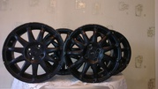 Литые диски черного цвета 15/195/65 4 шт.