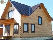 Строительство деревянного дома,  бани из бруса,  бревна. Красноярск