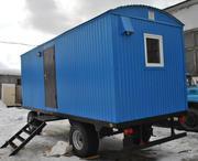 Жилой вагон-дом для проживания на прицеп -шасси