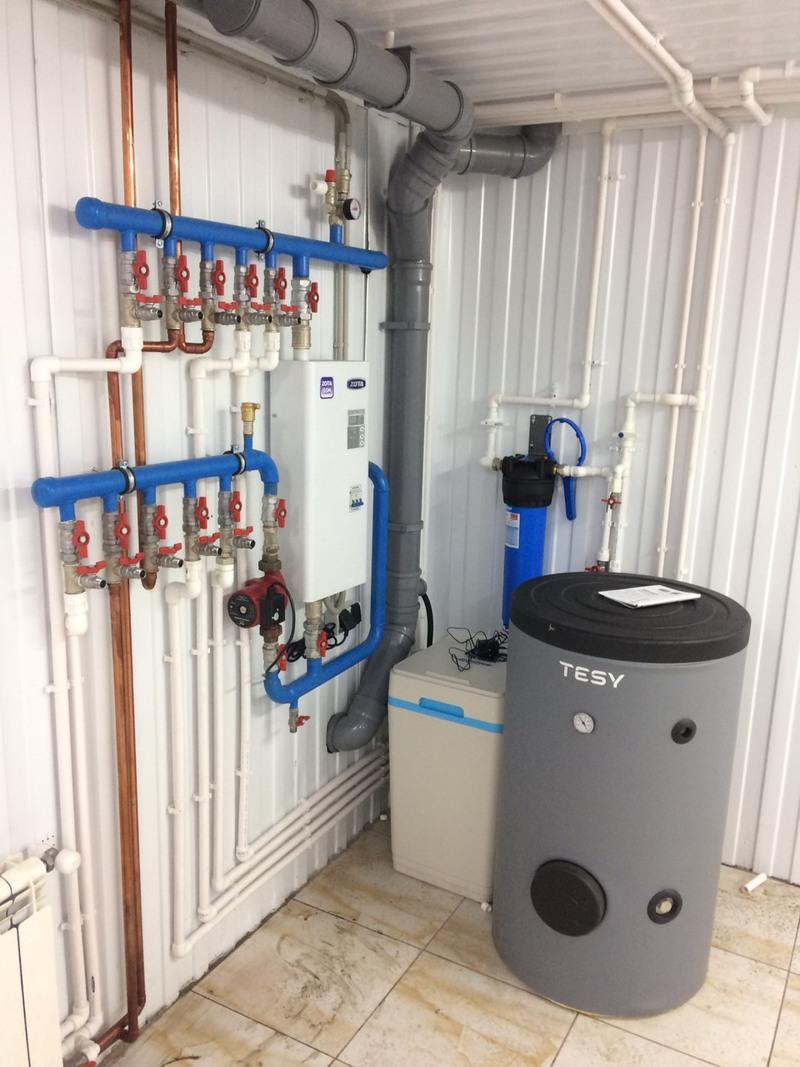 Внутренняя система водоснабжения жилого дома
