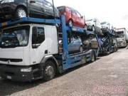 Перевозка автомобилей из Санкт-Петербурга и Москвы