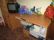 мебель в детскую комнату. 2 шкафа,  письменный стол,  раздвижная кровать
